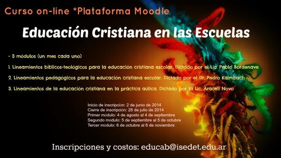 Educacion Cristiana en las Escuelas