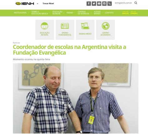 Miguel en Brasil